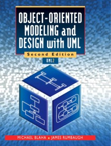 "Cover of ""Object-Oriented Modeling and Design with UML"""