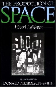 "Cover of ""The Production Of Space"", by Henri Lefebvre"